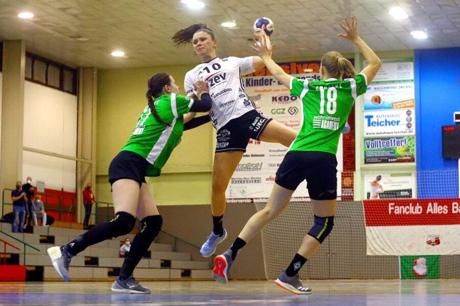 Kein Sieger im Zwickauer Handballkrimi