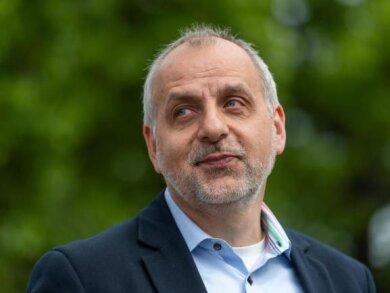 Rico Gebhardt, Fraktionsvorsitzender der Partei Die Linke in Sachsen.