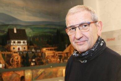 Erich Fritz nimmt Abschied als Geschäftsführer, bleibt aber der Freiberger Region treu.