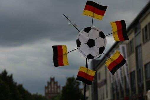 Sport ist hier wichtig - Szene aus Neubrandenburg.