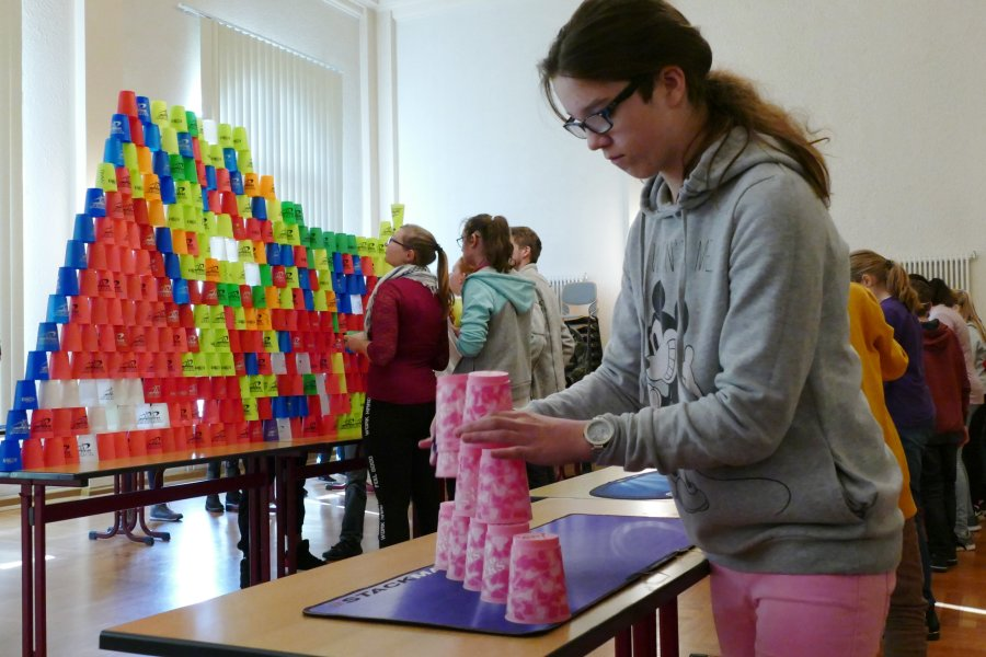 Zu den 233 Teilnehmern an der Nexö-Schule gehörte Amy Feller, die zuvor bei den Bayerischen Meisterschaften erfolgreich war.