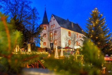 Die Schlossweihnacht in Netzschkau hat sich in den vergangenen Jahren zur besonders stimmungsvollen Veranstaltung entwickelt.