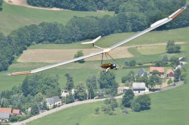 Drachenflieger wetteifern um Erzgebirge-Cup 2019