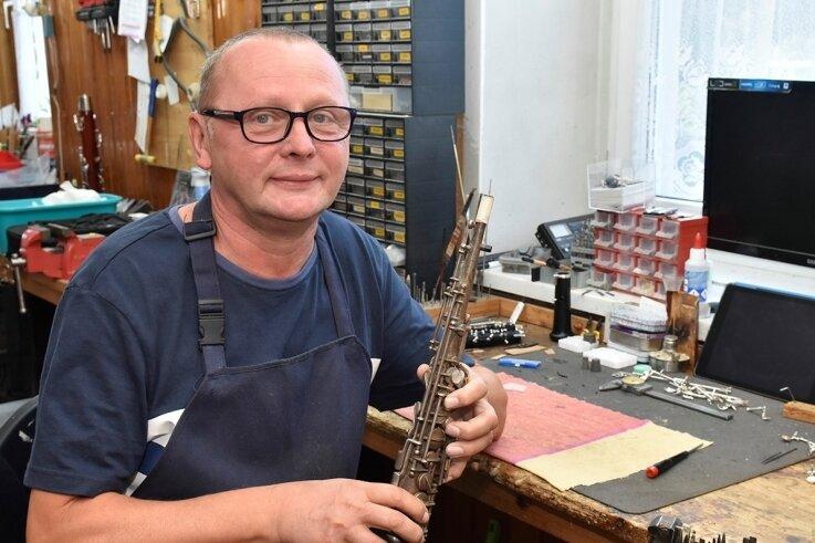 Bernd Renz aus Gopplasgrün ist Holzblasinstrumentenmacher ...