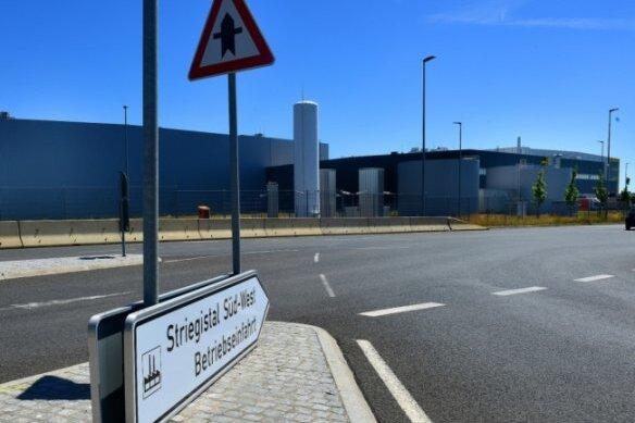 Edeka Nordbayern-Sachsen-Thüringen betreibt im Gewerbegebiet Berbersdorf an der A4 ein Logistikzentrum.