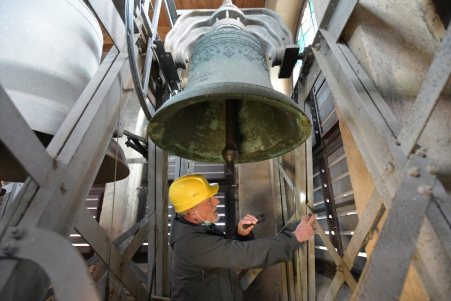 Damit die Glocken weiter läuten: Sanierung in Kleinwaltersdorf steht an