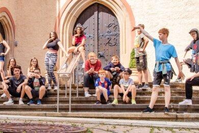 Für die Jugendlichen des Projektes um Herrschergeschichten war das Freiberger Stadt- und Bergbaumuseum wichtige Station.
