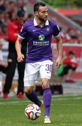 Für Aue spielte Fabian Müller viele Jahre in der zweiten Liga.