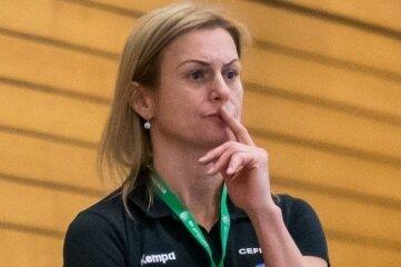 Setzt auf die Vernunft ihrer Handballerinnen: Trainerin Lucie Hribova vom HSV 1956 Marienberg.