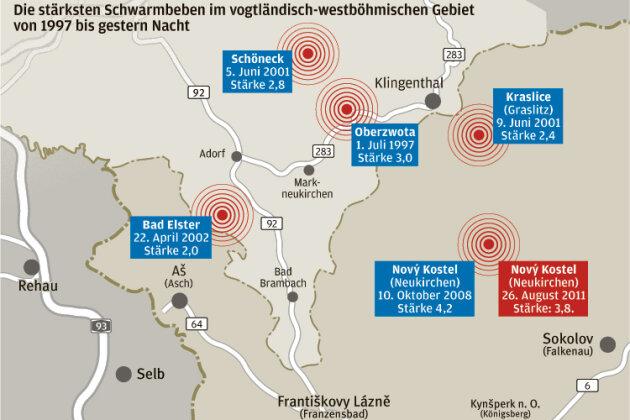 Erdbeben im Vogtland und im Westerzgebirge überrascht Forscher