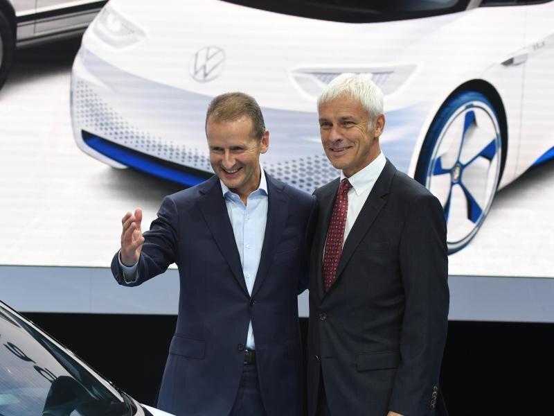 VW-Chef Müller soll für Kernmarken-Chef Diess Platz machen