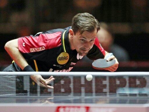 Timo Boll meistert seine Erstrunden-Hürde souverän