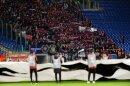 Fans von ZSKA Moskau verletzten sich in Rom