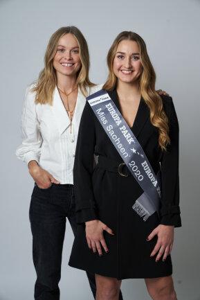 Nadine Voigt (r.) und Miss Germany 2019, Nadine Berneis.
