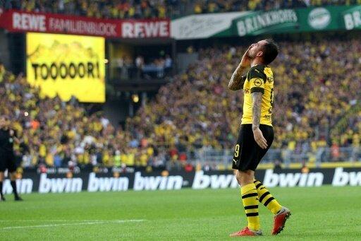 Alcacer war der Matchwinner beim 4:3-Sieg der Dortmunder