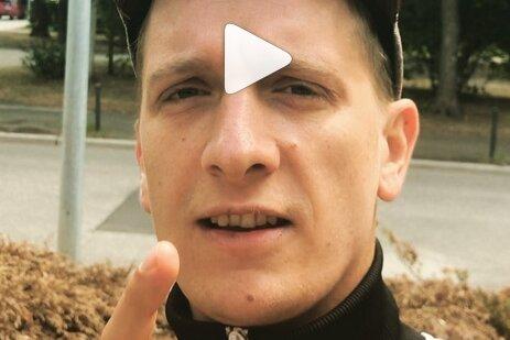 Felix Kummer kündigt bei Instagram die Eröffnung eines Plattenladens in Chemnitz an.
