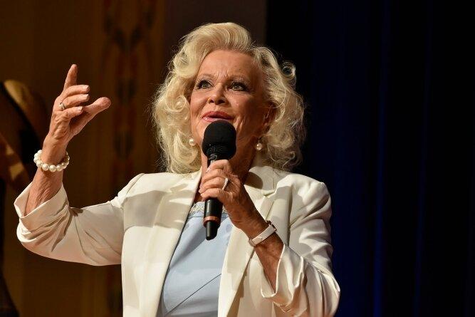 Dorit Gäbler trat am Samstagabend in Bad Elster auf.