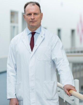 Chefarzt Dr. Peik Mutze.