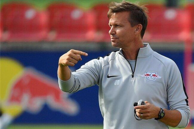 Jesse Marsch kennt sich in Leipzig aus und in seiner Zeit als Co-Trainer bei RB konnte er viel von Ralf Rangnick lernen.