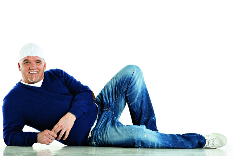 Gerhard Friedle alias DJ Ötzi tritt am 7.September in Freiberg auf.