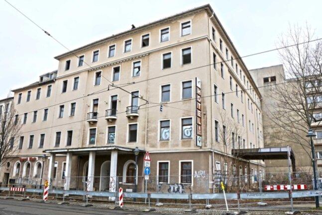 Das ehemalige Hotel Wagner soll schon bald abgerissen werden.