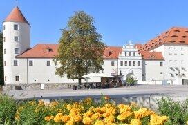 Auch beim Schloss Freudenstein half Kohlstock.