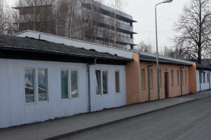 Das Wohn- und Sozialhaus an der Büttenstraße in Zwickau sollte ursprünglich abgerissen werden. Doch es steht noch immer.