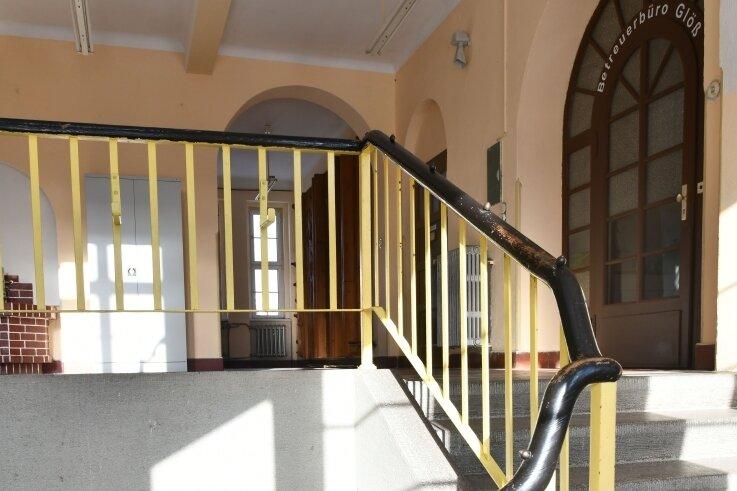 Die dritte Etage des Vereinshauses erinnert noch an die frühere Nutzung des Objektes als Schule. Hier soll die Neuhausener Bibliothek einziehen. Doch das Vorhaben muss nun warten.