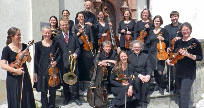 Neben den Mitgliedern der Merseburger Hofmusik sind am Montag viele weitere Akteure in St. Georgen zu sehen und zu hören.