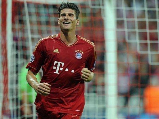 Mario Gomez: Der Torgarant erzielte beide Treffer