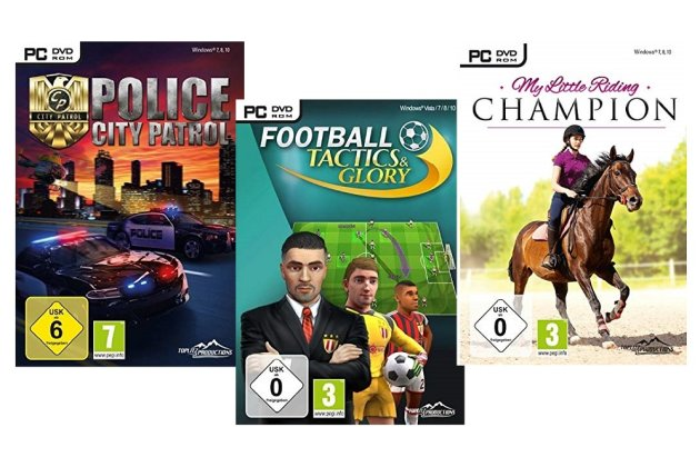 PC-Spiele-Paket