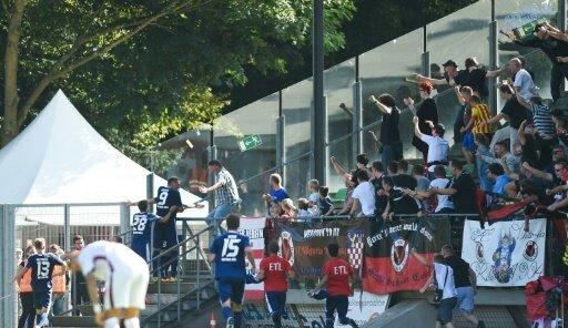 Fans von Viktoria Köln prügelten sich untereinander