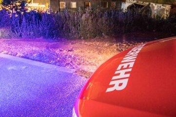 Ein zu groß geratenes Lagerfeuer hat in der Nacht zum Sonntag für einen Feuerwehreinsatz im Halsbrücker Ortsteil Hinterhäuser gesorgt.