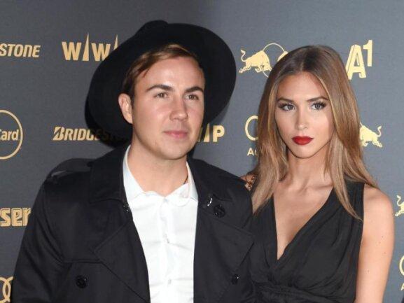 Sind Eltern geworden: Mario Götze und seine Frau Ann-Kathrin.