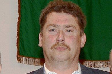 Uwe Ebert, Ortsvorsteher von Reumtengrün.