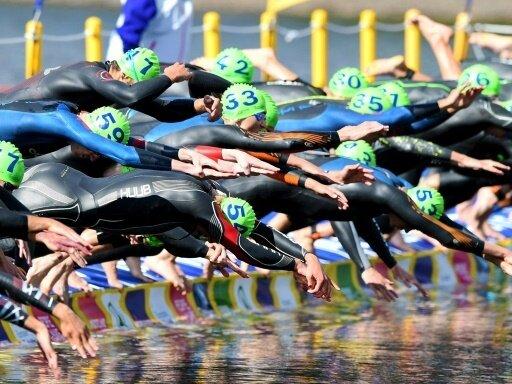 Deutsche Triathleten verpassen Staffel-Medaille