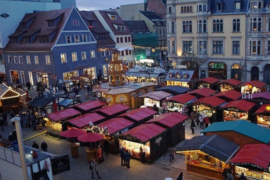 2019 gab es den vorerst letzten Weihnachtsmarkt in Zwickau, der im vergangenen Jahr musste wegen der Pandemie ausfallen.
