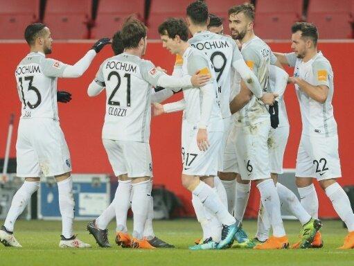 Bochum gewinnt 1:0 in Ingolstadt