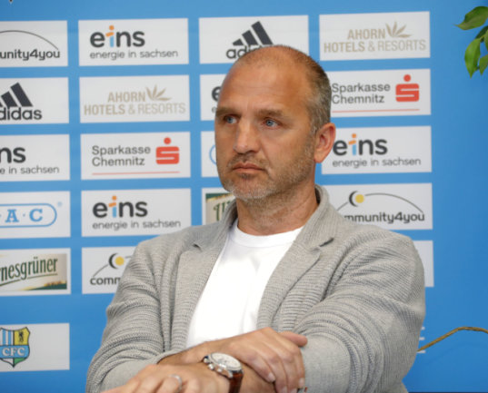 Sportvorstand Steffen Ziffert