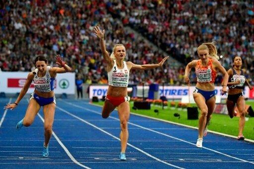 400 m: Gold für Justyna Swiety-Ersetic (M.)