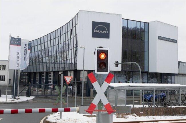 Am Plauener MAN-Standort wurden bis zuletzt Busse ausgebaut.