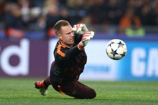 Ter Stegen war beim 2:2 gegen Celta Vigo Kapitän