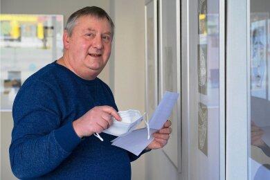 Frank Rüger ist der einzige Kandidat zur Bürgermeisterwahl Mühlau.