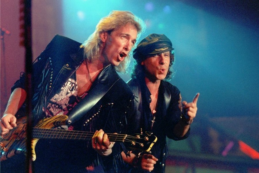 Klaus Meine (r.) - Scorpions-Sänger