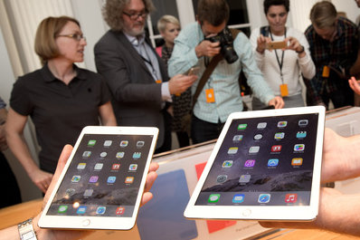 Der iPad Air 2 und das neue iPad mini.