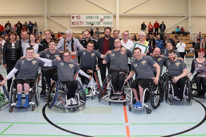 BSC Rollers feiert Sieg zum Pohlmann-Abschied