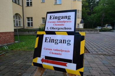 An der Beyerstraße steht die Testambulanz für Reiserückkehrer zur Verfügung.