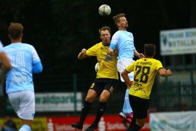 Auerbach konnte die Chemnitzer mit 2:1 besiegen.