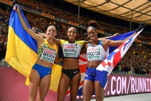Malaika Mihambo (M.) gewinnt Gold im Weitsprung