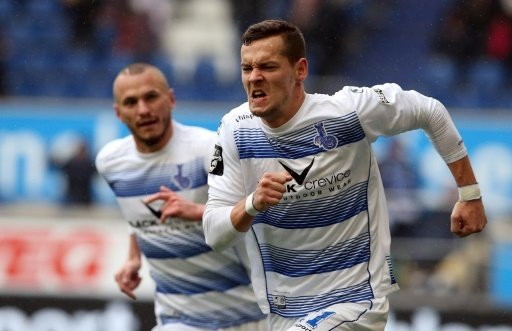 Stanislav Iljutcenko trifft gegen Erfurt doppelt